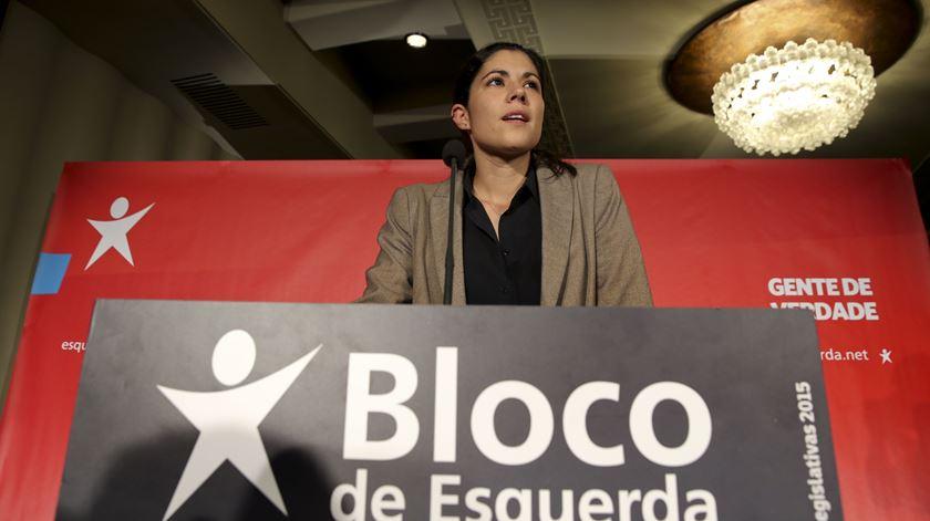 """Mariana Mortágua. Bloco à beira do """"melhor resultado de sempre"""""""