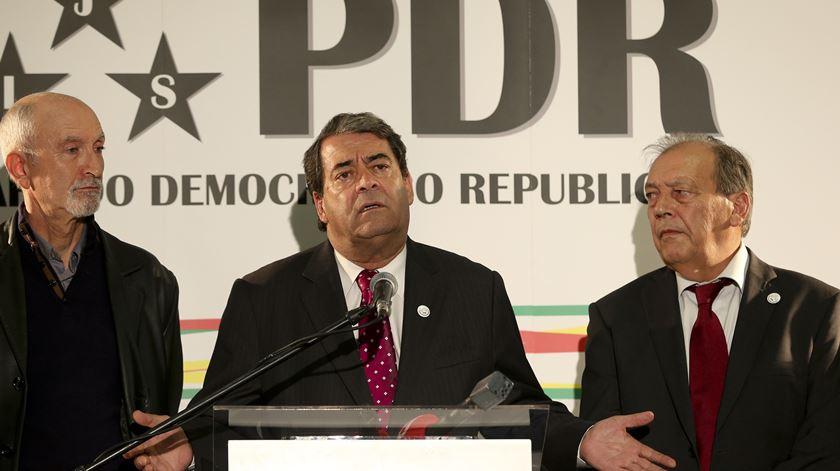 """Marinho Pinto. """"O que é preciso é ir votar e dar força política ao projeto europeu"""""""