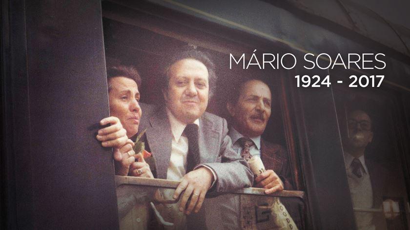Mário Soares. Uma vida em campanha pela democracia