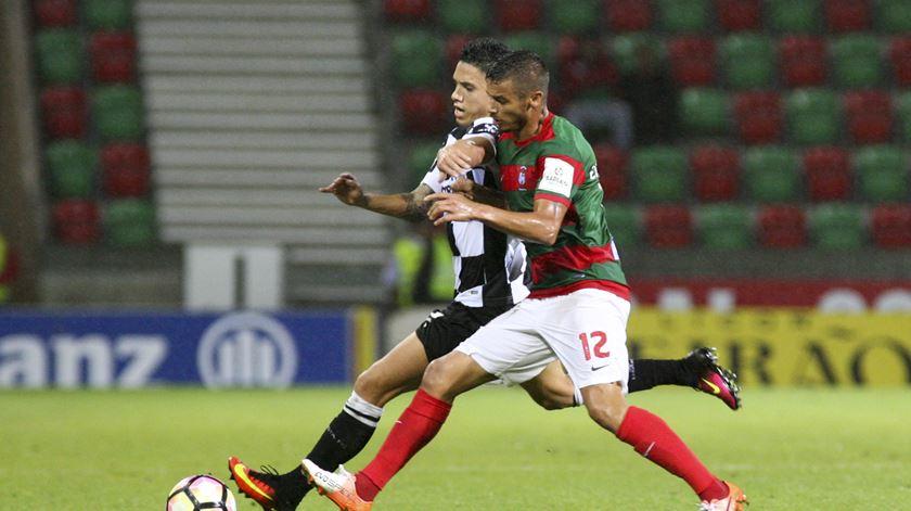Marítimo-Boavista foi o segundo jogo do dia. Foto: Lusa