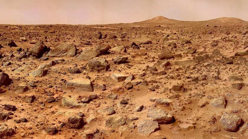 Há ainda mais gelo em Marte do que se pensava