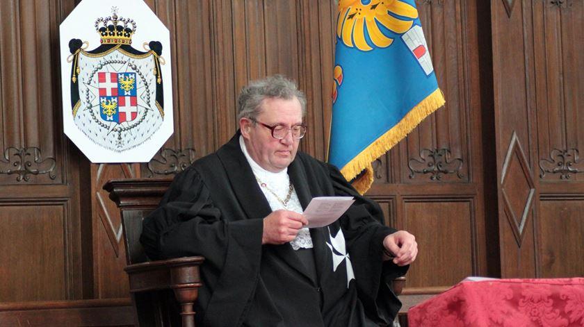 Matthew Festing deixa o cargo de grão-mestre. Foto: Wikipedia
