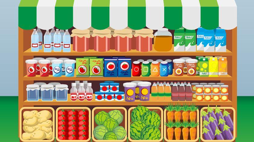 Rótulos. Sabe o que está a comprar para comer?