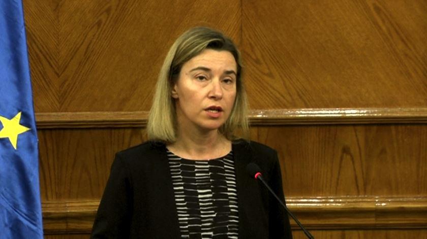 """Mogherini na Jordânia. Europa sente hoje """"a mesma dor que esta região conhece todos os dias"""""""