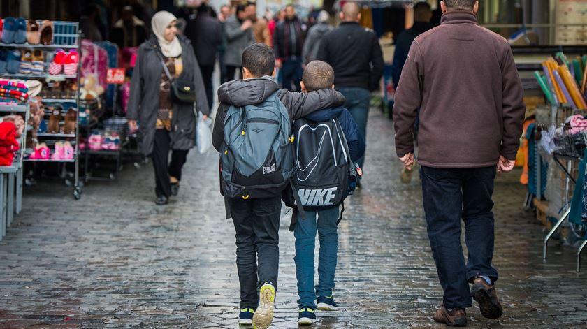 O dilema da migração vive-se nas ruas de Bruxelas