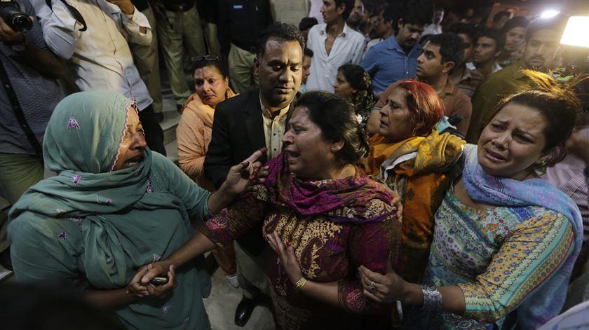 """Papa condena atentado """"vil e incompreensível"""" no Paquistão"""