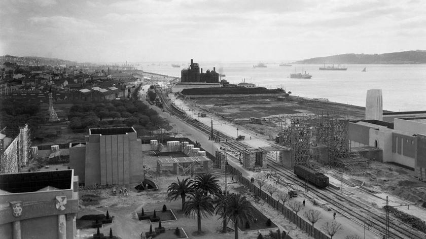 """Uma das fotos da """"Exposição do Mundo Português"""". Foto: Horácio Novais/Padrão dos Descobrimentos"""