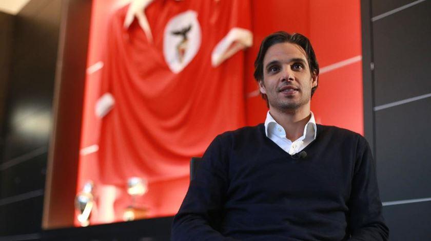 Nuno Gomes, agora ex-director da formação encarnada. Foto: SL Benfica
