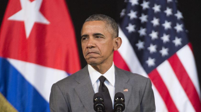 """Obama sobre Bruxelas. """"Mundo tem de continuar unido para combater o terrorismo"""""""