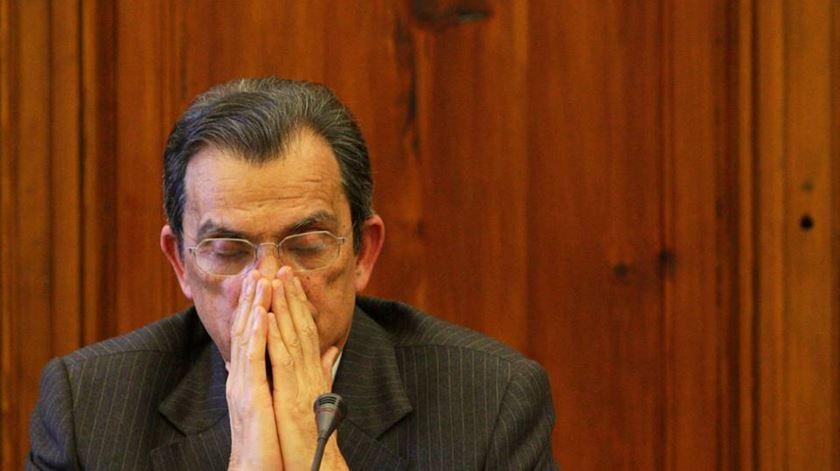 Oliveira e Costa (na foto) e Dias Loureiro estavam indiciados por burla qualificada, branqueamento e fraude fiscal qualificada. Foto: Lusa