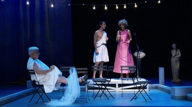 Desastres de amor no teatro da Cornucópia