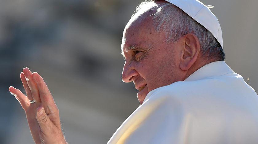O Papa Francisco vai receber o prémio Carlos Magno de 2016. Foto: Ettore Ferrari/EPA