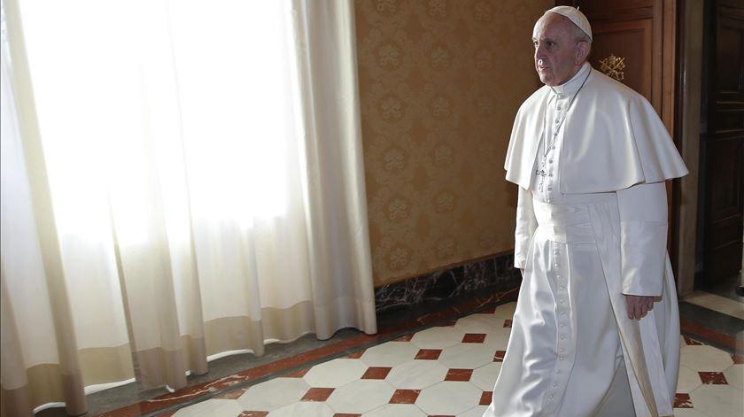 """Papa pede a Trump decisões guiadas por """"ricos valores espirituais"""""""