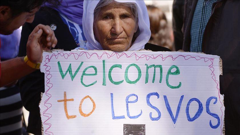 """""""Não percais a esperança!"""" Papa diz aos refugiados que não estão sozinhos"""