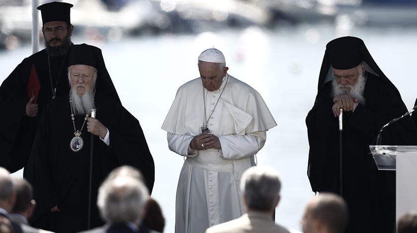 """Patriarca Bartolomeu: """"O Mundo vai ser julgado pela forma tratou"""" os refugiados"""