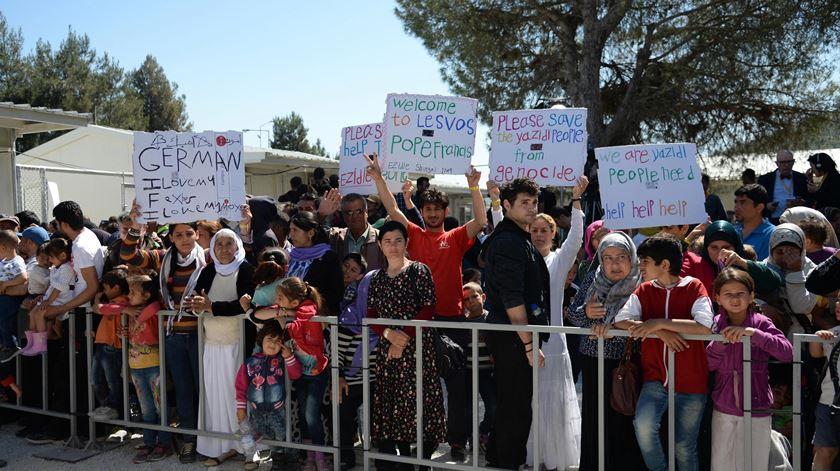 """Migrantes """"não são números"""". Mensagem do Papa para a Europa"""