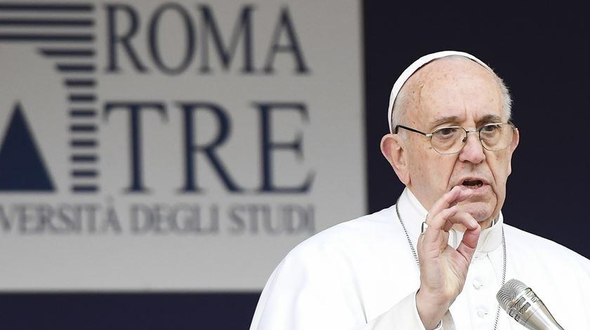 """Papa Francisco. """"O Mare Nostrum é hoje um cemitério"""""""