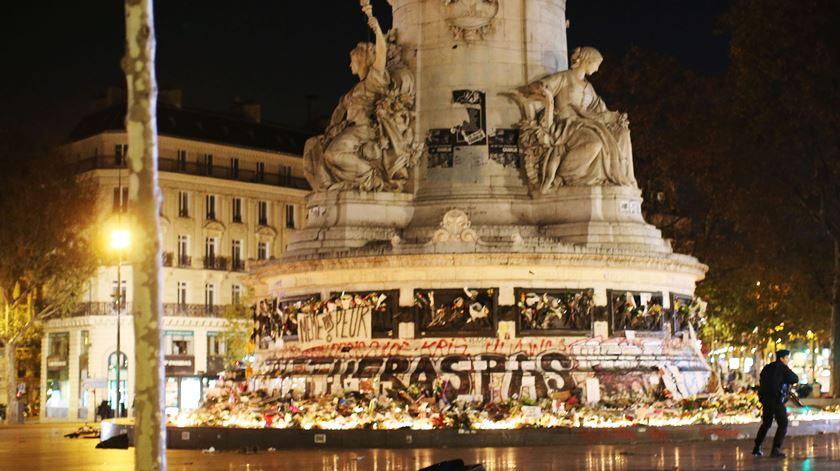Paris. Falso alarme lança pânico na Praça da República