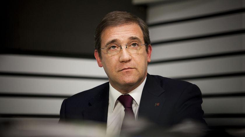 """Passos Coelho: Banco de Portugal """"não se sentiu impelido"""" a resolver Banif antes de vender Novo Banco"""
