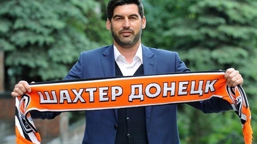 Conquistou a Taça de Portugal pelo Braga e agora ruma à Ucrânia. Foto: Shakhtar Donetsk