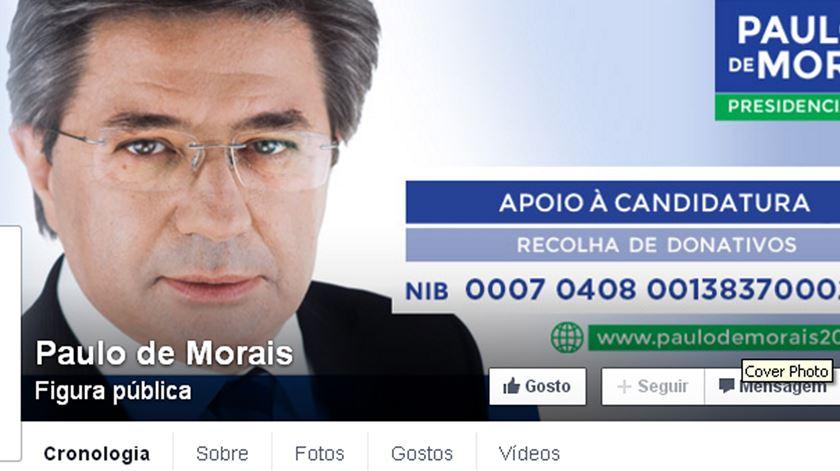 Paulo Morais pede ajuda para pagar gastos da campanha