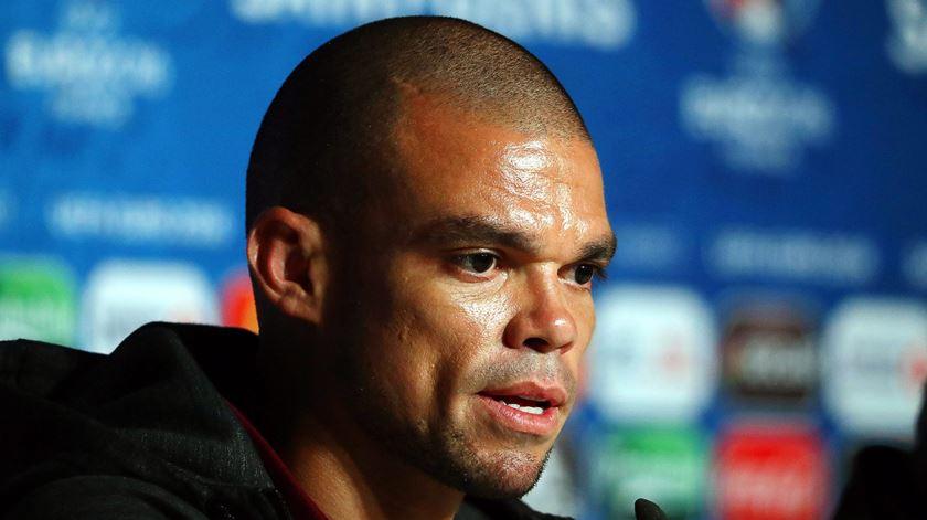 """Pepe: """"Disse aos meus companheiros que tínhamos que ganhar pelo Ronaldo"""""""