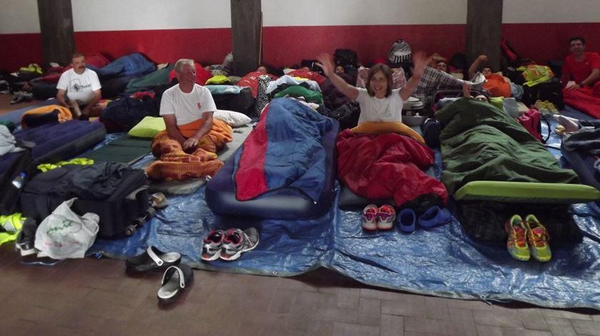 A Caminho de Fátima - Onde podem dormir os peregrinos? - 26/04/2017