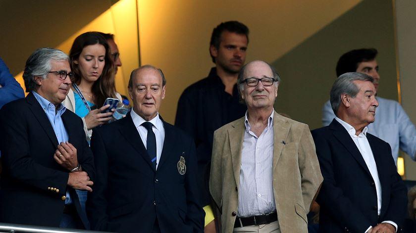 Pinto da Costa gostaria de festejar título no Estádio do Dragão. Foto: Fernando Veludo/Lusa