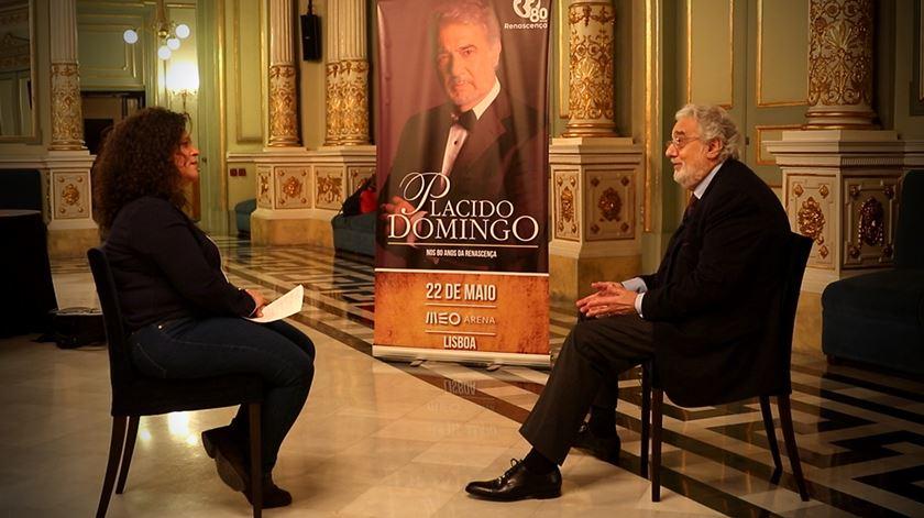 """Plácido Domingo. """"É com grande alegria que volto a Portugal"""""""