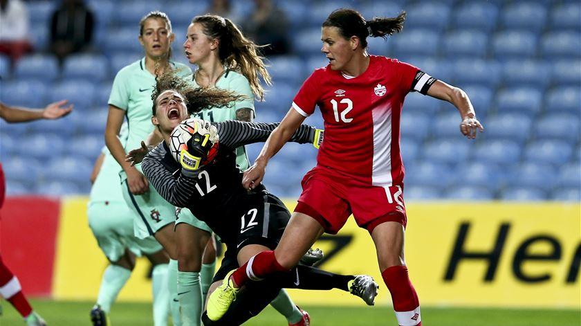 Portugal e Canadá poderão defrontar-se após a fase de grupos. Foto: Nuno Veiga/Lusa