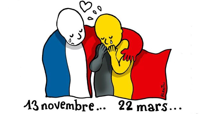 O cartoon de Plantu para o Le Monde