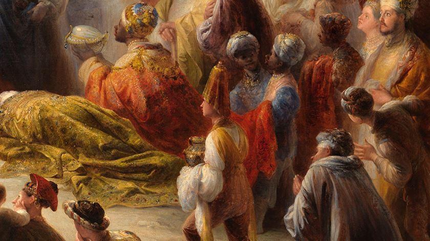 """Obra """"A Adoração dos Magos"""" foi pintada em 1828"""