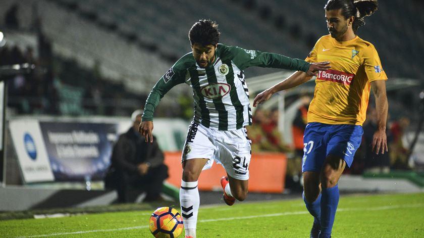 João Amaral destacou-se no Bonfim. Foto: Rui Minderico/Lusa