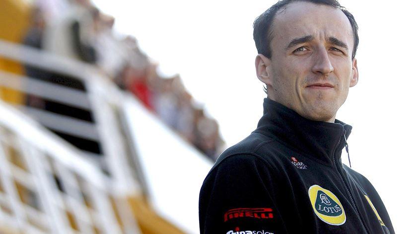 Kubica cumpre o sonho do regresso à F1. Foto: DR
