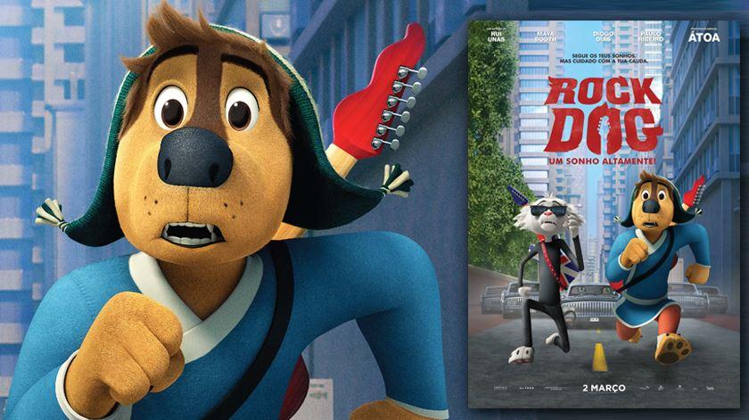 """Trailer: """"Rock Dog - Um Sonho Altamente"""""""