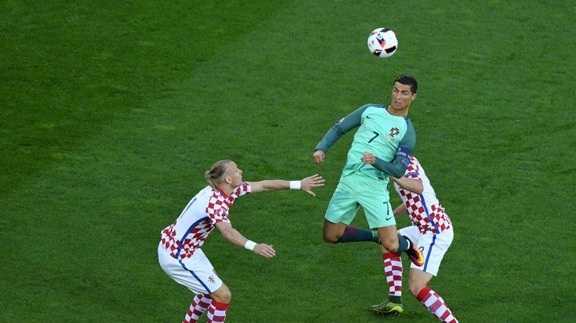 Vida defrontou Portugal, no Euro 2016. Foto: EPA