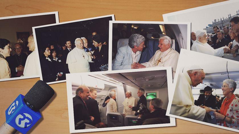 Aura Miguel. 29 anos a seguir o Papa
