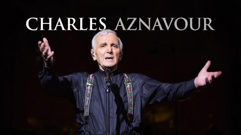 Charles Aznavour em Portugal para um concerto inesquecível