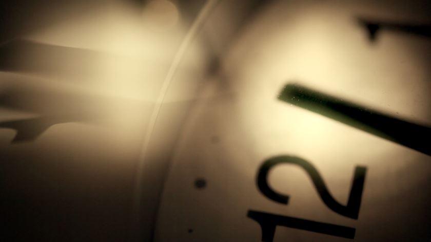 O minuto que vem