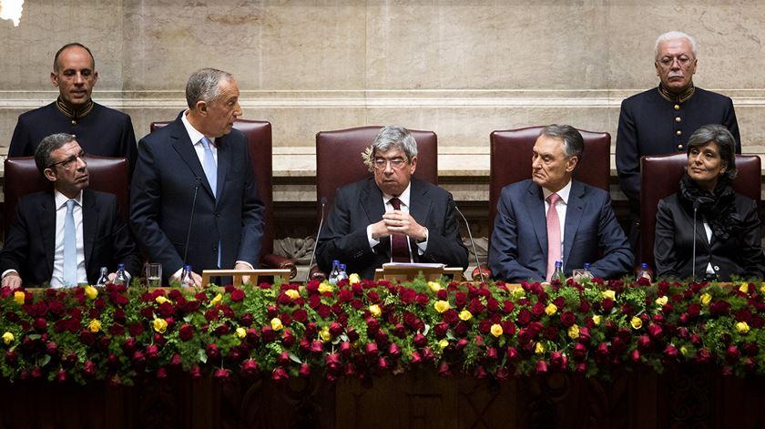 O primeiro discurso do Presidente Marcelo na íntegra