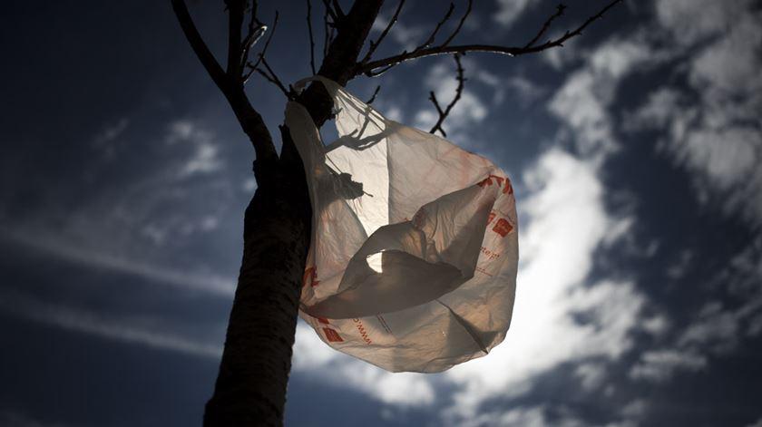 Chumbado aumento do preço dos sacos de plástico