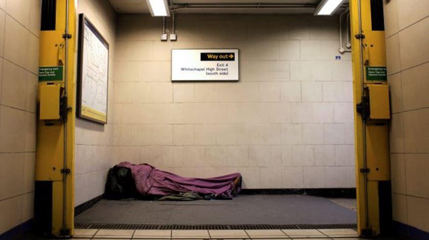 Câmara de Lisboa prevê retirar até 2021 todos os sem-abrigo da rua