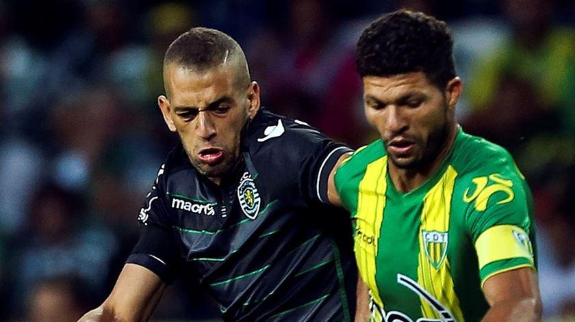 Kaká foi o capitão do Tondela nas duas últimas temporadas. Foto: Paulo Novais/Lusa