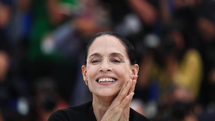 Sónia Braga vai ser Lúcia. Foto: Julien Wranand/EPA