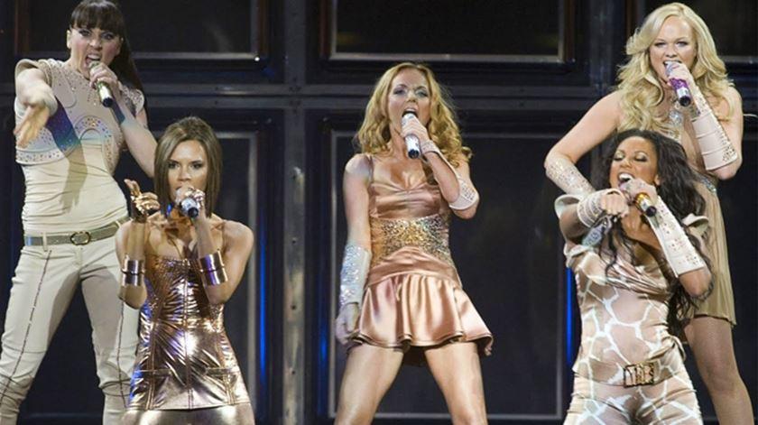 As Spice Girls estão de volta para uma digressão mundial