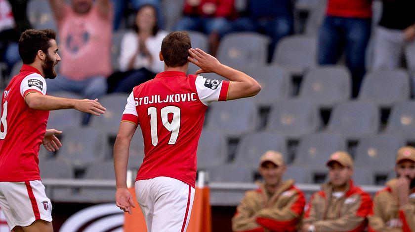 Braga empresta Stojiljkovic à segunda divisão espanhola