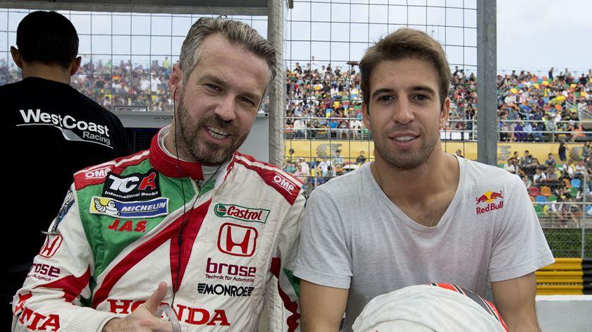 Félix da Costa vai estar nas 24 horas de Daytona. Foto: Carmo Correia/Lusa