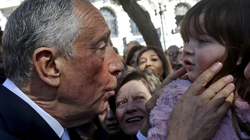 O povo do Porto e Marcelo estão numa relação. E não é nada complicada