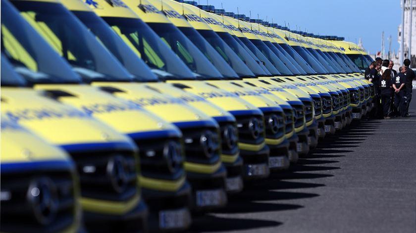 Cinco milhões de euros, 75 ambulâncias: INEM avança para renovação da frota após Centeno libertar verbas