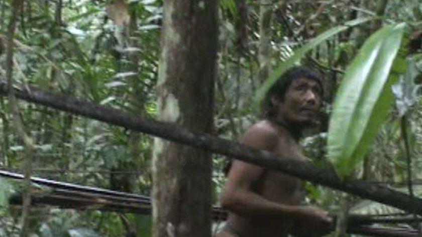 Tribo Kawahiva em vias de extinção